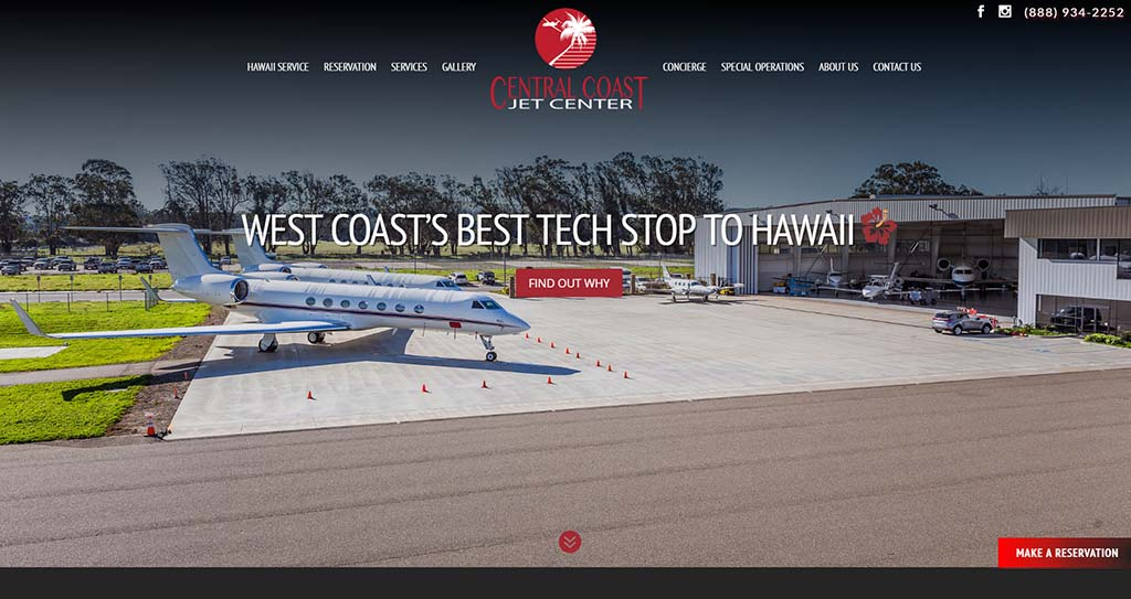 Aviation Web Design Solutions
