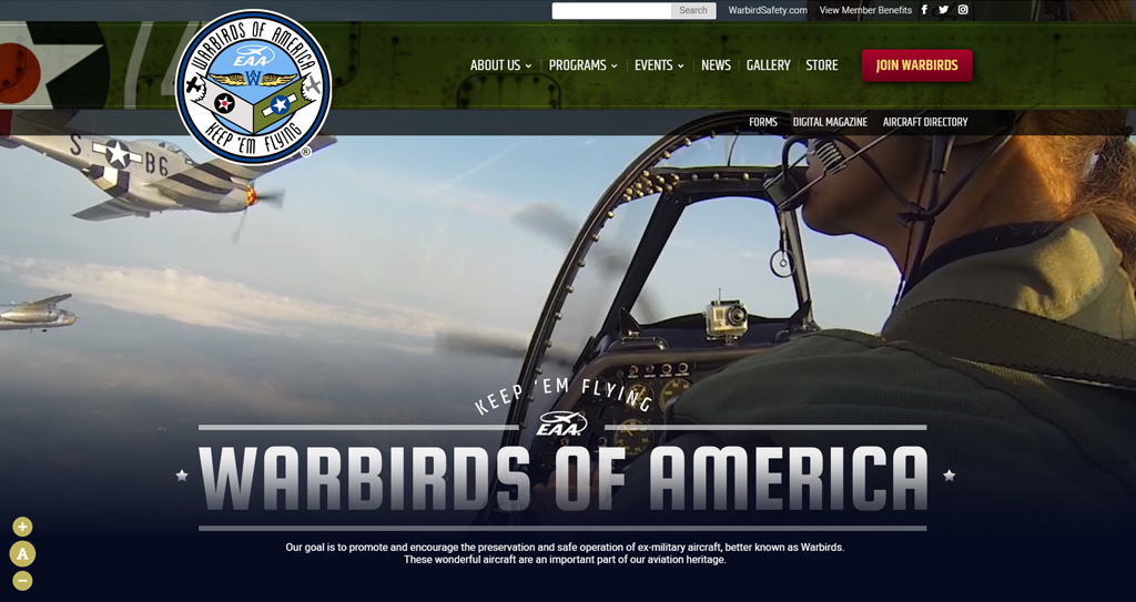 Aviation Websites Houston
