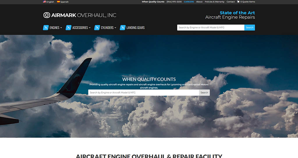 Best Aviation Website Design